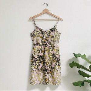 Madewell sungarden silk dress